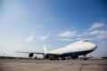 Lidostā Rīga sagaidīts vēsturē lielākais gaisa kuģis